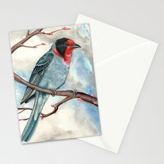 Red Faced Warbler Stationery Cards