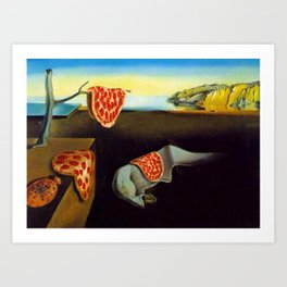 The Persistence of Hunger Art Print