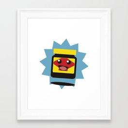Happy Little Vegemite Framed Art Print