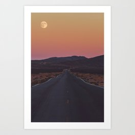 Full Moon Fever Art Print
