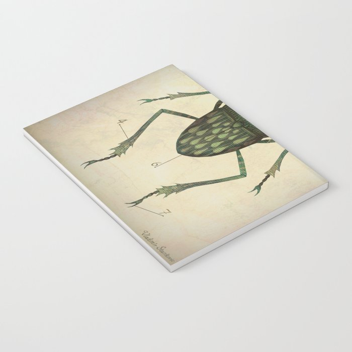 Stag Beetle Notebook