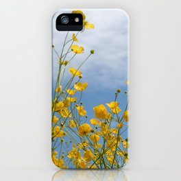 Smørblomst iPhone Case