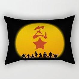 Enemy Warriors Rectangular Pillow