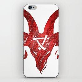 Red Horned Skaven iPhone Skin