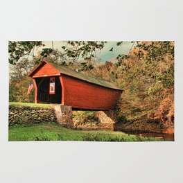 Covered Bridge Rug