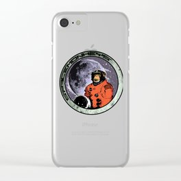 Space Monkeys Clear iPhone Case