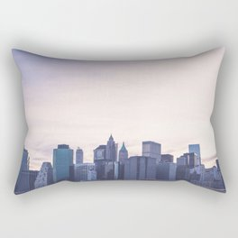 Lower Manhattan Skyline Rectangular Pillow