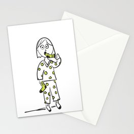 Put A Sock In It Idiom Stationery Cards