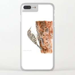 Little Creeper by Teresa Thompson Clear iPhone Case