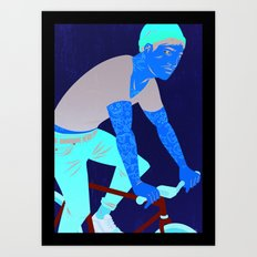 Bicycles & Tattoos Art Print