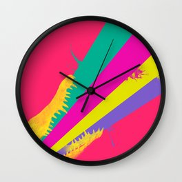 crococolors Wall Clock