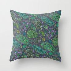 Nugs in Green Throw Pillow