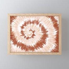 Neutral Tie-Dye 01 Framed Mini Art Print