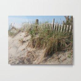 Long Beach Island Dunes Metal Print