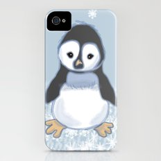 Frosty pinguin Slim Case iPhone (4, 4s)