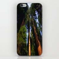 giants iPhone & iPod Skins featuring Giants by Robin Curtiss