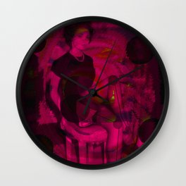 Dialectical Opposition Wall Clock