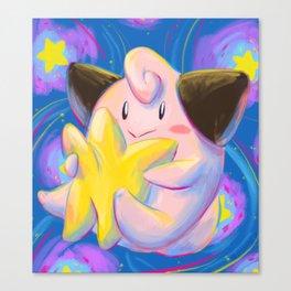 Cleffa Canvas Print