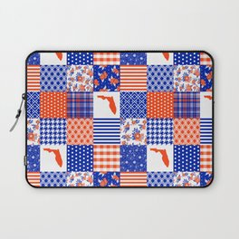 Florida University gators swamp life varsity team spirit college football quilted pattern gifts Laptop Sleeve