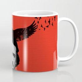 Edgar Allan Poe / Raven / Digital Painting Coffee Mug