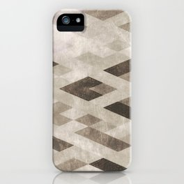 Abstract Pattern in Subtle iPhone Case