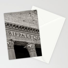 The Pantheon black and white Stationery Cards