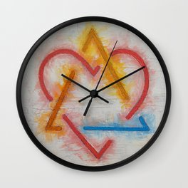 Adoption Symbol Wall Clock