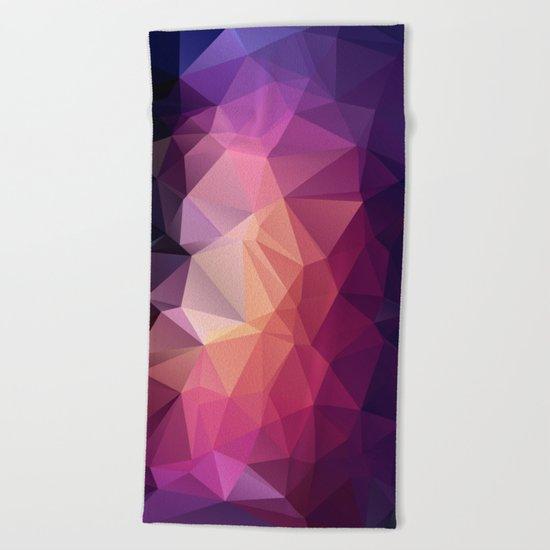 VerticalDiamond Beach Towel