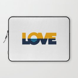 LOVE - People's Flag of Milwaukee Laptop Sleeve