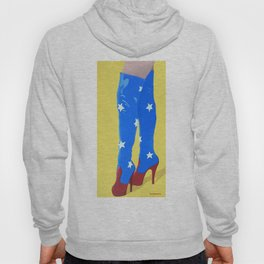 Wonderful Boots For a Wonderful Woman Hoody
