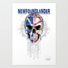 To The Core Collection: Newfoundland & Labrador Art Print