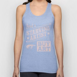 Feed an Artist Unisex Tank Top