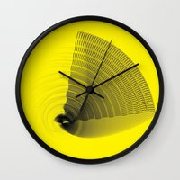 pi Wall Clocks featuring pi by Graphmob