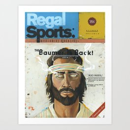 """The Greatest Magazine Never Made"" Art Print"