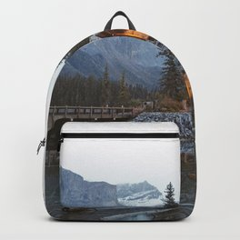 scenic beauty house in deep valley Backpack
