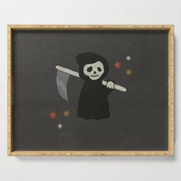 Halloween Grim Reaper  Serving Tray