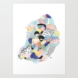 Love is for the Brave Art Print