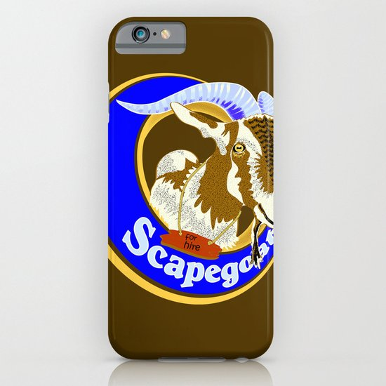 Scapegoat for Hire iPhone & iPod Case