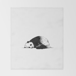Sleepy Panda Throw Blanket