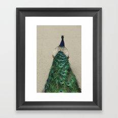 Shake Your Tailfeather Framed Art Print