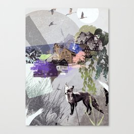 Eastern Hillside Canvas Print