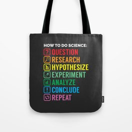 How To Science Tote Bag
