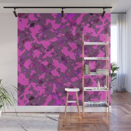 CAMOUFLAGE PINK Wall Mural