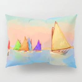 Rainbow Fleet Pillow Sham