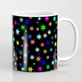 Stars on black ground Coffee Mug