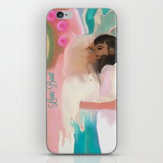 Little Love Boat iPhone & iPod Skin