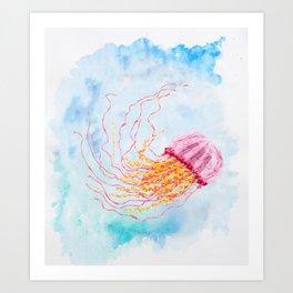 Hoopless: Float On Art Print