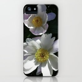 Blushing Peonies iPhone Case