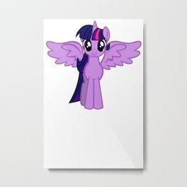 Friendship Is Magic Twilight Sparkle Metal Print