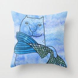 Fish tail Throw Pillow